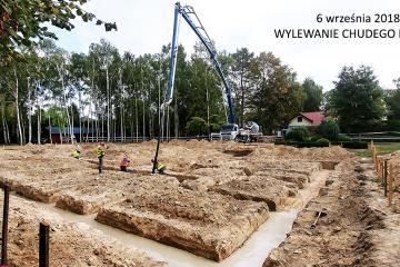 wylanie betonu