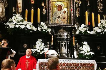 Msza w kaplicy