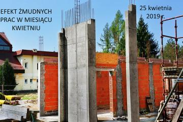 Budowa w kwietniu